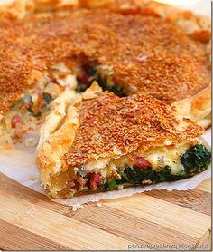 La torta di spinaci , fontina e pancetta | Panza & Presenza | Bloglovin'