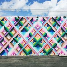 My favorite from the Wynwood Walls in Miami. Oh wait... they're all amazing!!!!  #streetart