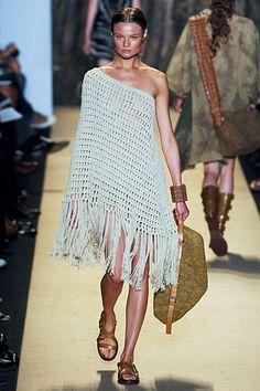 haute couture crochet | michael kors: beauty in nature.