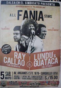 Salsa en el Sindicato All Fania Stars     Lima Peru Latin Music, Dance Music, My Music, 70s Singers, Puerto Rican Music, Musica Salsa, All Star, Salsa Music, Puerto Rican Culture