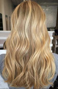 Trendy Hair Color & Balayage : beige and gold honey blonde highlights… Golden Blonde Hair, Brown Blonde Hair, Short Blonde, Gray Hair, Ombre Hair Color, Hair Color Balayage, Babylights Blonde, Balayage Hairstyle, Blonde Color
