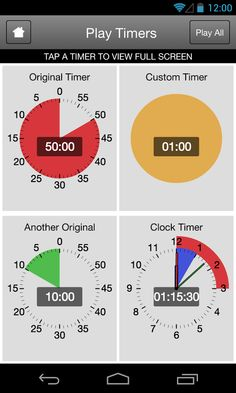 Time Timer now has downloadable Apps available both on Google Play and Apple Store!
