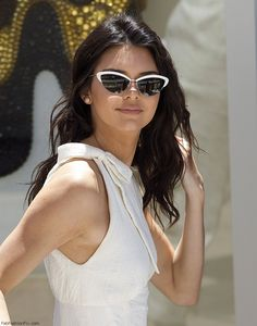 Kendall Jenner looked chic at the Magnum Global Ambassador Photocall at 69th Cannes Film Festival. #kendalljenner