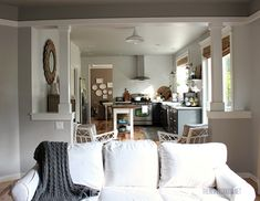 the inspired room kitchen and family room