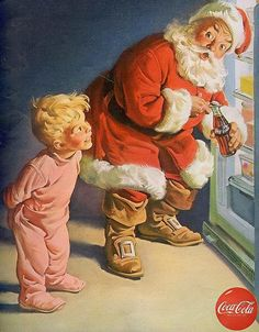Natal dos anos 1940 - 1950.