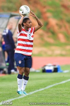 e7a8b078057 Crystal Dunn got her cap and played very well vs. Iceland in the Algarve  Cup. Usa Soccer ...