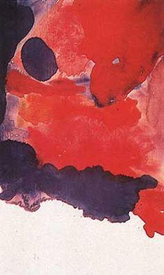 Helen Frankenthaler, Blue Atmosphere 1963