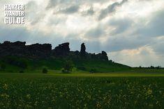 Teufelsmauer bei Weddersleben, auch Königsstein(e) genannt...