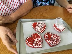Carolyn's lace cookies