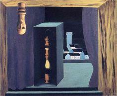 René Magritte - Un Hombre Famoso, 1926