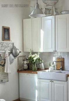 Shabby Soul:My Kitchen Before and After