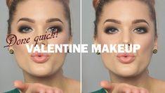 Done Quick – Valentine Makeup - Linda Hallberg makeup tutorials