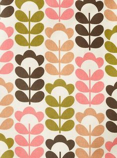 Le nouveau motif ORal Kiely. Vous aimez? Moi j'adore! print & pattern: ORLA KIELY - ss2013 prints