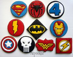 Super Hero Cookies | Flickr - Photo Sharing!