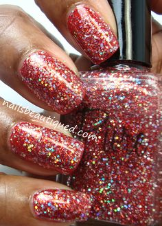 Pure Nail Lacquer, Passion over NOPI Challenge Red-Y