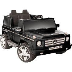 Kid Motorz Black 12V Mercedes Benz G55 AMG Ride-on ❣  http://www.overstock.com/Sports-Toys/Kid-Motorz-Black-12V-Mercedes-Benz-G55-AMG-Ride-on/6298340/product.html