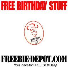 BIRTHDAY FREEBIE – Biscuits Cafe - FREE $5 BDay Reward