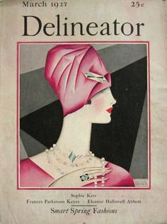 March 1927 Delineator Magazine Cover ~ Helen Dryden