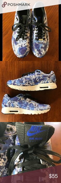 *RARE* Nike Air Max Ultra Tokyo Floral Sz 6 *RARE* Limited Edition Nike Air Max Ultra Tokyo Floral Pre-owned and in good condition No longer available in stores Shoes only - bags or box not available Nike Shoes Sneakers