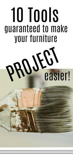 10 Tools Guaranteed To Make Your Furniture Projects Easier Porch Furniture, Furniture Repair, Furniture Projects, Furniture Makeover, Cool Furniture, Painted Furniture, Furniture Outlet, Buy Furniture Online, Discount Furniture