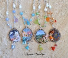 collection of cameos four elements by AngeniaC.deviantart.com on @DeviantArt