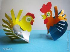Мастер-класс Бумагопластика Бумажные птички Бумага фото 3
