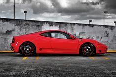 Ferrari 360 on 360 Forged CF 5 Wheels by 360 Forged, via Flickr