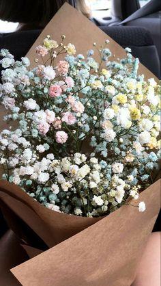 Spring Aesthetic, Flower Aesthetic, My Flower, Beautiful Flowers, Babys Breath Flowers, No Rain, Planting Flowers, Floral Arrangements, Bloom