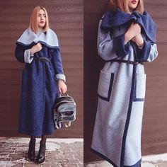UNIVERSAL Двухстороннее пальто из шерсти, это уникальная и  универсальная вещь вашего гардероба! С ним Ваш образ будет всегда индивидуальным и неповторимым  Пальто-14700 руб. #musthave72 #onelovemusthave