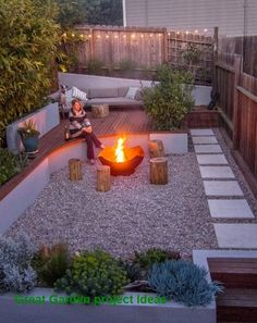 55 Modern Garden Design Ideas to Try imposing 55 Modern Garden Design Ideas to Try In modern cities, it is sort of impossible to sit inside a house with a ga. Backyard patio ideas 55 Modern Garden Design Ideas to Try Fire Pit Backyard, Backyard Patio, Backyard Landscaping, Backyard Ideas, Backyard Designs, Patio Ideas, Decking Ideas, Diy Patio, Firepit Ideas