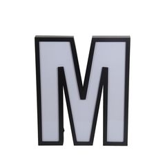 Privilege LED Letter M Wall Decor