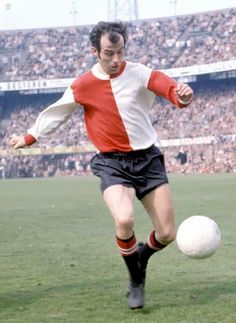 Coen Moulijn of Feyenoord in Rotterdam, Laws Of The Game, Association Football, Most Popular Sports, Football Soccer, Fifa, World Cup, The Past, Running