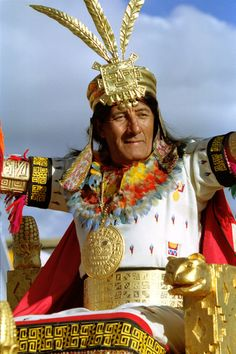 Inti Raymi Festival - Saqsaywaman, Peru