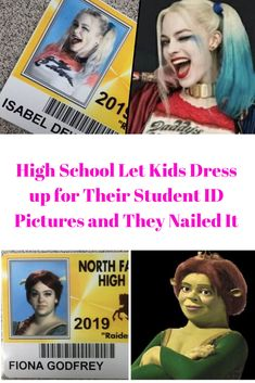 These seniors were given the opportunity to dress up as their all-time favorite characters for their student ID pictures. The results were amazing! Told You So, Just For You, Let It Be, Unique Fashion, Kids Fashion, Women's Dresses, Nice Dresses, Kids Dress Collection, Kids Dress Up