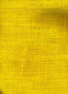 """60"""" Burlap Decorating Fabric, Canary Yellow  by the yard $4.99"""