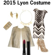 Show up in this Lyon costume on Halloween and there will be no question as to who rules this holiday.