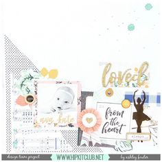 What an absolutely darling layout that designer @ashleylaurabu has created using the #september2016 #hipkits!  @hipkitclub @cratepaper @maggiehdesign #gather #gathercollection #hipkitclub @shimmerzpaints #exclusives  #hkcexclusives #ephemera #scrapbookingkitclub #kitclub #papercrafting #scrapbooking