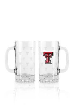 Boelter  16-oz. NCAA Texas Tech Red Raiders2-pack Glass Tankard Setbr