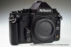 NIKON DF 16.2MP Digital Camera Body Black Excellent+ #Nikon