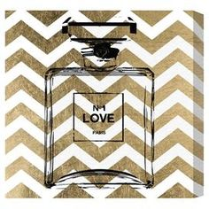 Perfume Canvas Print, Oliver Gal