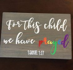 Rainbow Baby Sign, Pregnancy Announcement Sign
