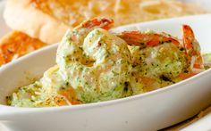 Shrimp Ya Ya - Fresh Gulf shrimp sautéed in our Cajun pesto, served with garlic toast ...