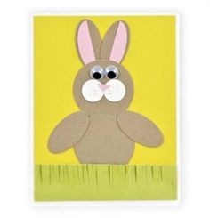 Paper Pieced Easter Bunny Card