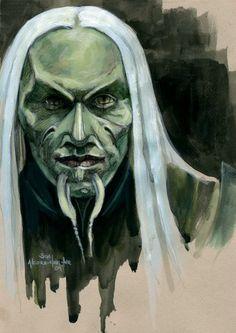 Steve the Wraith, SGA by BohemianWeasel.deviantart.com on @deviantART