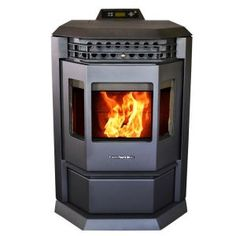 The ComfortBilt is one of the most powerful and cleanest burning pellet stoves sold in North America today. It has 5 heat levels that can be adjusted manually or by programmable thermostat, and a Fireplace Grate, Fireplace Inserts, Best Pellet Stove, Pellet Burner, Rv Wood Stove, Heat Exchanger, Carbon Black, Mobile Home, Bay Window