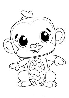 Hatchimals Coloring Page Coloring Pages Coloring Pages Birthday
