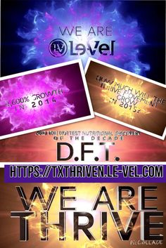 #industryshift #Nikeofnutrition #Health & #Wellness #Wealth all in one awesome company with a #Cloudbased technology that allows you to have #Free webpage and #Free to enroll and receive #Freeproducts https://txthriven.le-vel.com