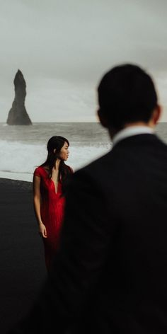 Iceland Elopement at Black Sand Beach. Eloping in Iceland. Getting married in the land of ice and fire. Black Sand, Sand Beach, Elopements, Iceland, Getting Married, Weddings, World, Photography, Linz