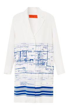 Blueprint Jacket by Clover Canyon for Preorder on Moda Operandi