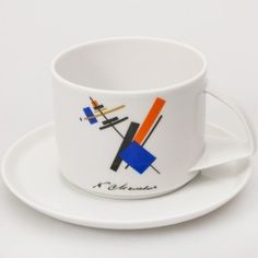 Malevich Teacup w/ Saucer